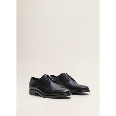 Mango Man DERBIES EN CUIR NOIR