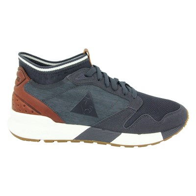 Le Coq Sportif OMICRON CRAFT BASKETS BASSES BLEU Chaussure France_v9654