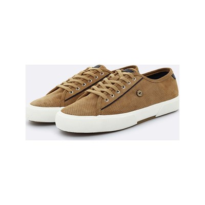Faguo BIRCH LEDERSNEAKERS KAMELFARBEN