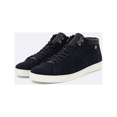 Faguo ASPEN HIGH SNEAKERS AUS LEDER MARINEBLAU