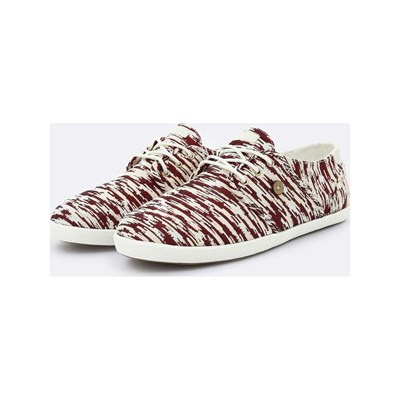 Faguo CYPRESS SNEAKERS BORDEAUXROT
