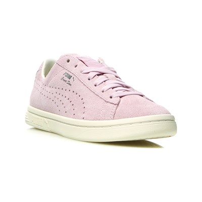 Puma COURT STAR LEDERSNEAKERS BLASSLILA