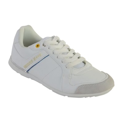 Versace FONDO TOMMY DIS.1 BASKETS BASSES BLANC Chaussure France_v11894