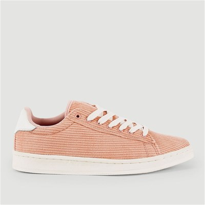 Monoprix BASKETS EN VELOURS ROSE Chaussure France_v671