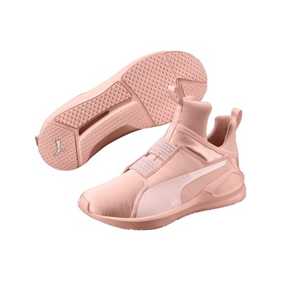 Puma BASKETS BASSES ROSE Chaussure France_v2697