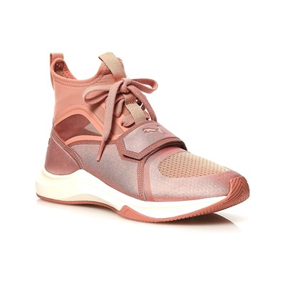 Puma BASKETS BASSES ROSE Chaussure France_v4078