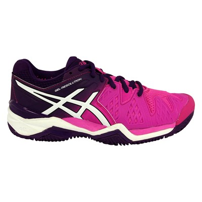 Asics GEL RESOLUTION 6 CHAUSSURES DE TENNIS VIOLET