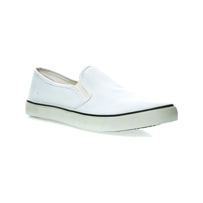 Oms SLIP-ON BLANC Chaussure France_v157