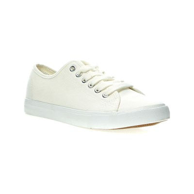 Oms BASKETS BASSES BLANC Chaussure France_v149