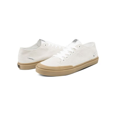 Volcom LEEDS SUEDE BASKETS BASSES BLANC Chaussure France_v3736