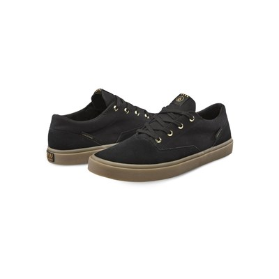 Volcom DRAW LO SUEDE BASKETS BASSES NOIR Chaussure France_v10339
