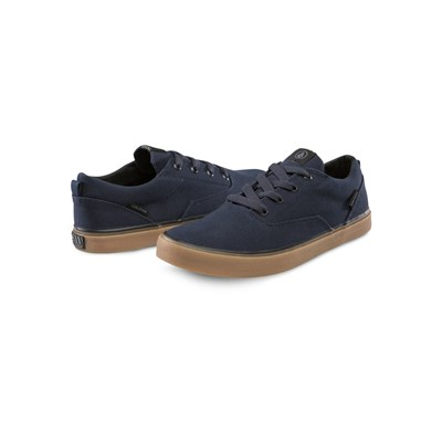Volcom DRAW LO BASKETS BASSES BLEU