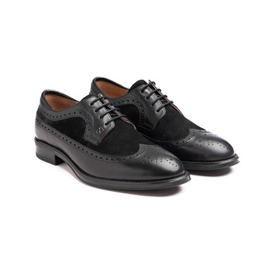 Polo Club DERBIES EN CUIR NOIR Chaussure France_v9660