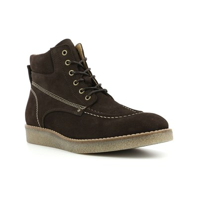 Chaussures Femme | Kickers ZALPILLE BOTTINES EN CUIR MARRON