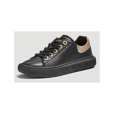 Guess BUCKY BASKETS BASSES NOIR Chaussure France_v8850