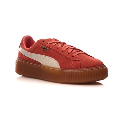 Puma BASKETS EN CUIR ROSE Chaussure France_v4970