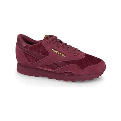 Reebok Classics BASKETS EN CUIR BORDEAUX Chaussure France_v1689