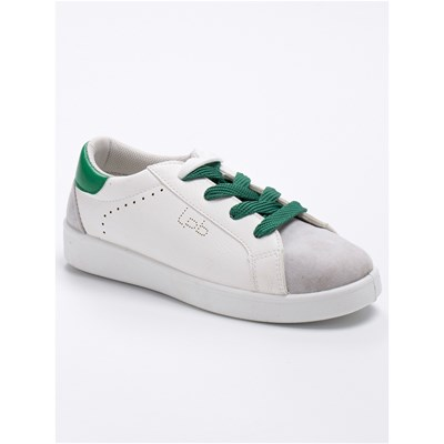 LPB Woman ABIGAEL LOW SNEAKERS WEIß