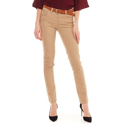Best Mountain JEANS SLIM BEIGE
