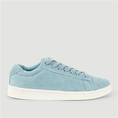 Monoprix BASKETS EN VELOURS BLEU Chaussure France_v670
