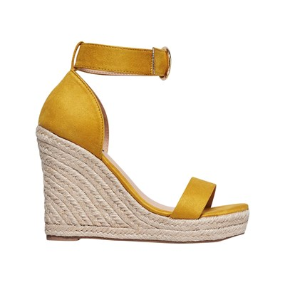 Only AMÉLIA WEDGES GELB