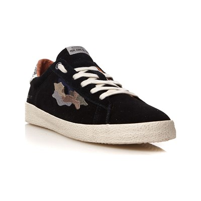 Pepe Jeans Footwear PORTOBELLO SNEAKERS IN PELLE NERO