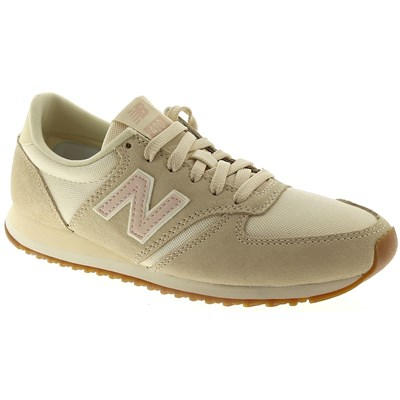 New Balance WL420 BASKETS BASSES BEIGE Chaussure France_v10350
