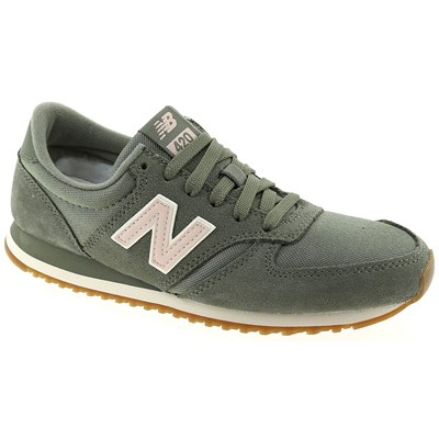 New Balance WL420 BASKETS BASSES VERT Chaussure France_v10351