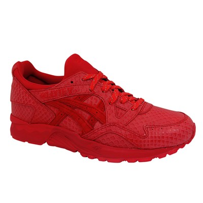 Asics GEL LYTE V BASKETS BASSES ROUGE Chaussure France_v8660