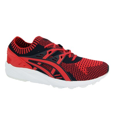 Asics GEL KAYANO TRAINER KNIT BASKETS BASSES ROUGE Chaussure France_v9442