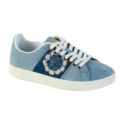 Desigual COSMIC EXOTIC BASKETS BASSES BLEU