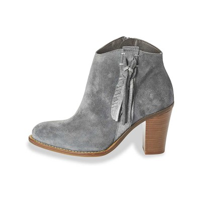 Kaporal Shoes TEXANE LEDERBOOTS GRAU
