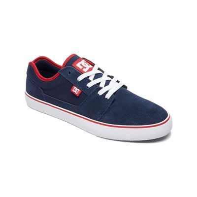 DC Shoes BASKETS EN CUIR BLEU Chaussure France_v2881