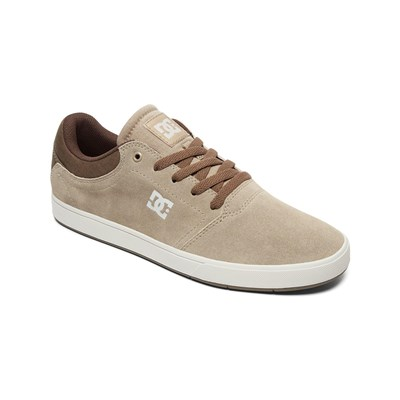 DC Shoes BASKETS EN CUIR BEIGE Chaussure France_v3391