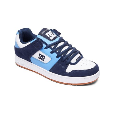 DC Shoes BASKETS EN CUIR BLEU