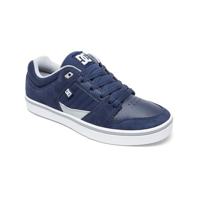 DC Shoes BASKETS EN CUIR BLEU Chaussure France_v3099