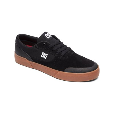 DC Shoes BASKETS EN CUIR NOIR Chaussure France_v2812