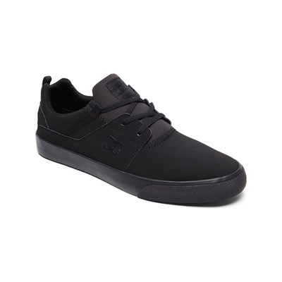 DC Shoes BASKETS EN CUIR NOIR