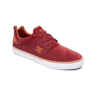Dc Shoes LEDERSNEAKERS ROT