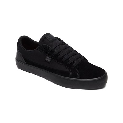 DC Shoes BASKETS EN CUIR NOIR Chaussure France_v2882
