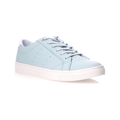 Tommy Hilfiger CITY LEDERSNEAKERS BLAU
