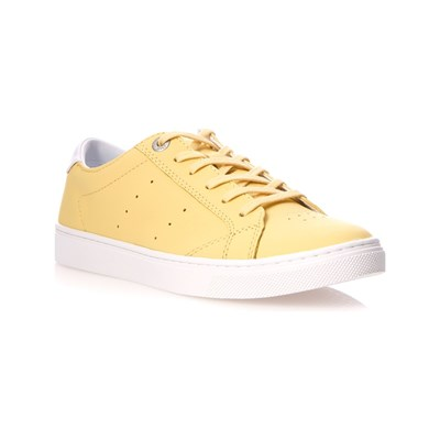 Eye Catching Tommy Hilfiger SNEAKERS IN PELLE GIALLO