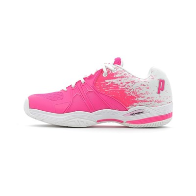 Prince WARRIOR LITE CHAUSSURES DE TENNIS ROSE Chaussure France_v7961