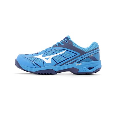 Mizuno WAVE EXCEED CC CHAUSSURES DE TENNIS BLEU Chaussure France_v8746