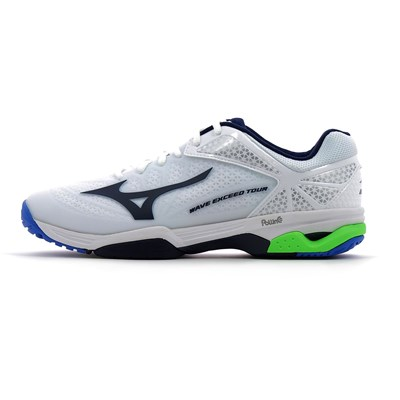 Mizuno WAVE EXCEED TOUR 2 AC CHAUSSURES DE TENNIS BLANC Chaussure France_v10253