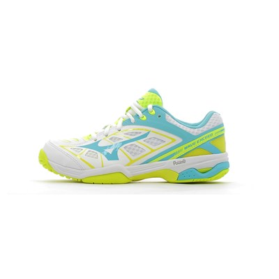 Mizuno WAVE EXCEED AC CHAUSSURES DE TENNIS BLANC Chaussure France_v7947