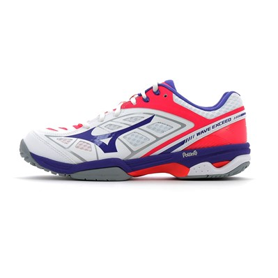 Mizuno WAVE EXCEED W AC CHAUSSURES DE TENNIS BLANC Chaussure France_v7949