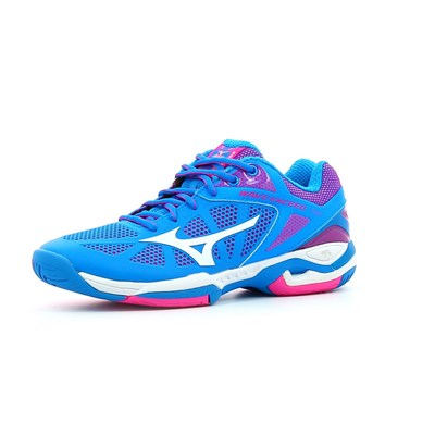 Mizuno WAVE EXCEED TOUR AC W CHAUSSURES DE TENNIS BLEU Chaussure France_v10257