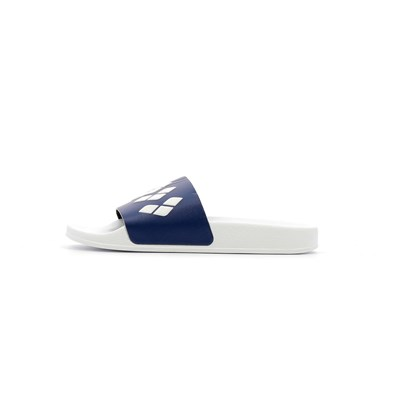 Arena TEAM STRIPE SLIDE SANDALES BLANC
