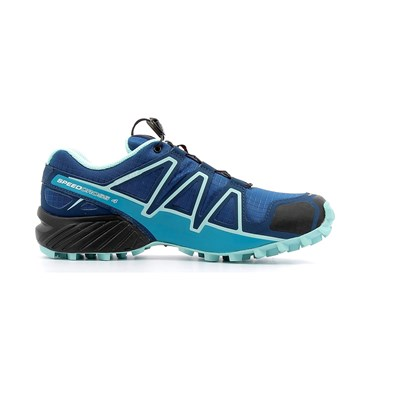 Salomon SPEEDCROSS 4 W CHAUSSURES DE RUNNING BLEU